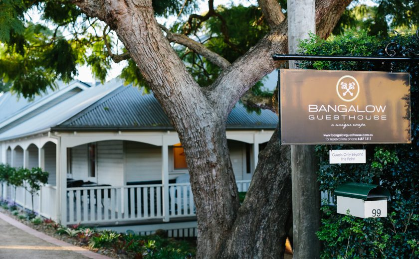Bangalow Guesthouse Entrance